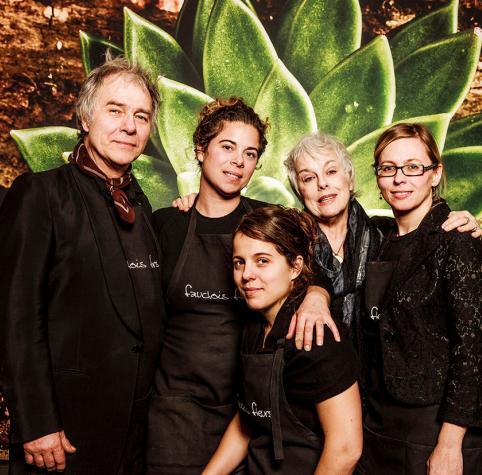 L'équipe Fauchois Fleurs/Fauchois Fleurs Team