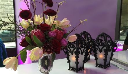 Compositions florales pour le Cirque Éloize